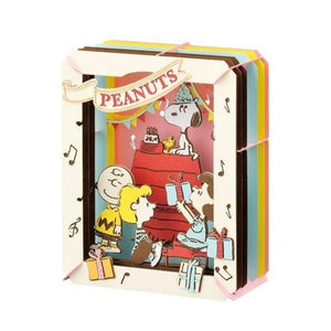 【現貨】Ensky Peanuts Paper Theater (PT-138) Happy Birthday