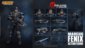 【現貨】Storm Collectibles Gears of War Marcus Fenix Action Figure