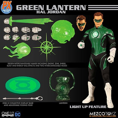 【現貨】Mezco Toyz ONE:12 PX Green Lantern Hal Jordan Action Figure