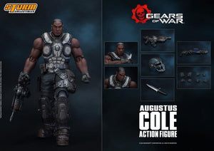 【現貨】Storm Collectibles Gears of War Augustus Cole Action Figure