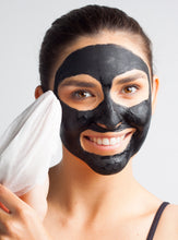 activated charcoal + coconut mask
