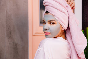 aussie sea clay + green tea mask