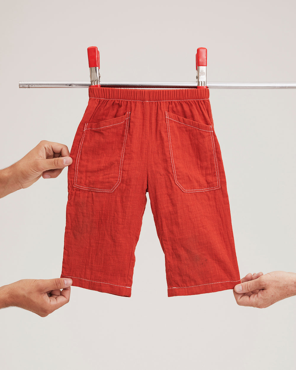 Chatham Trouser in Red
