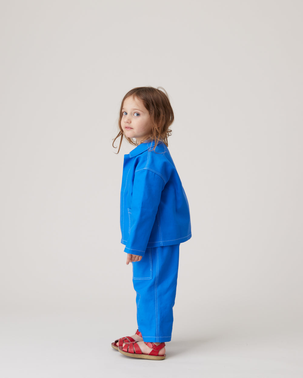 Chore Coat in Royal Blue