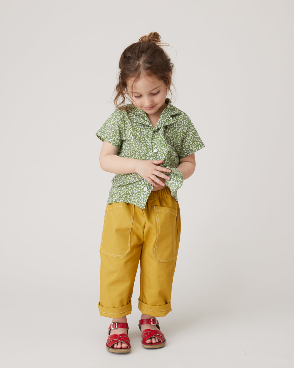 Chatham Trouser in Honey Mustard