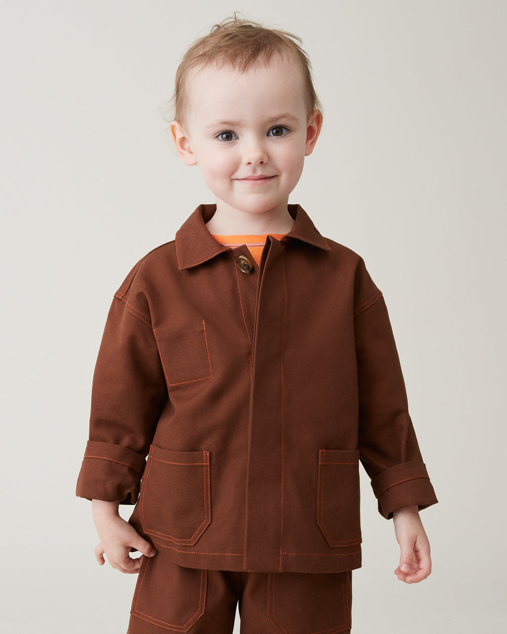 Chore Coat in Brown
