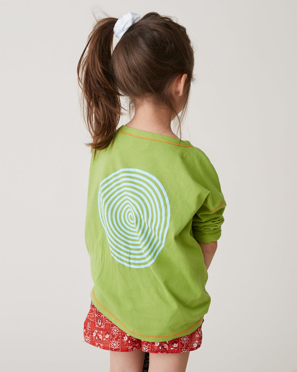 Kisco Long Sleeve in Lime Green