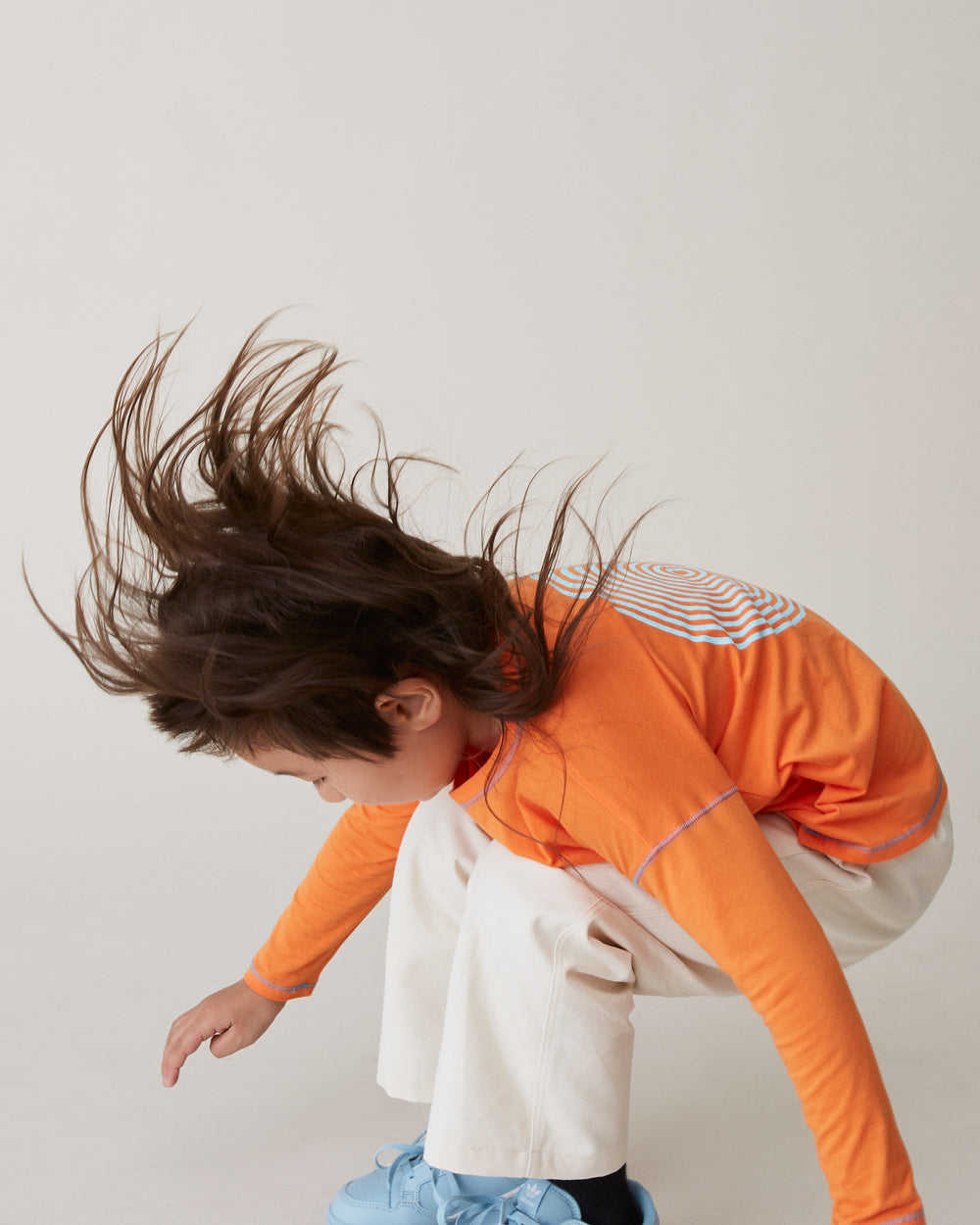 Kisco Long Sleeve in Tangerine