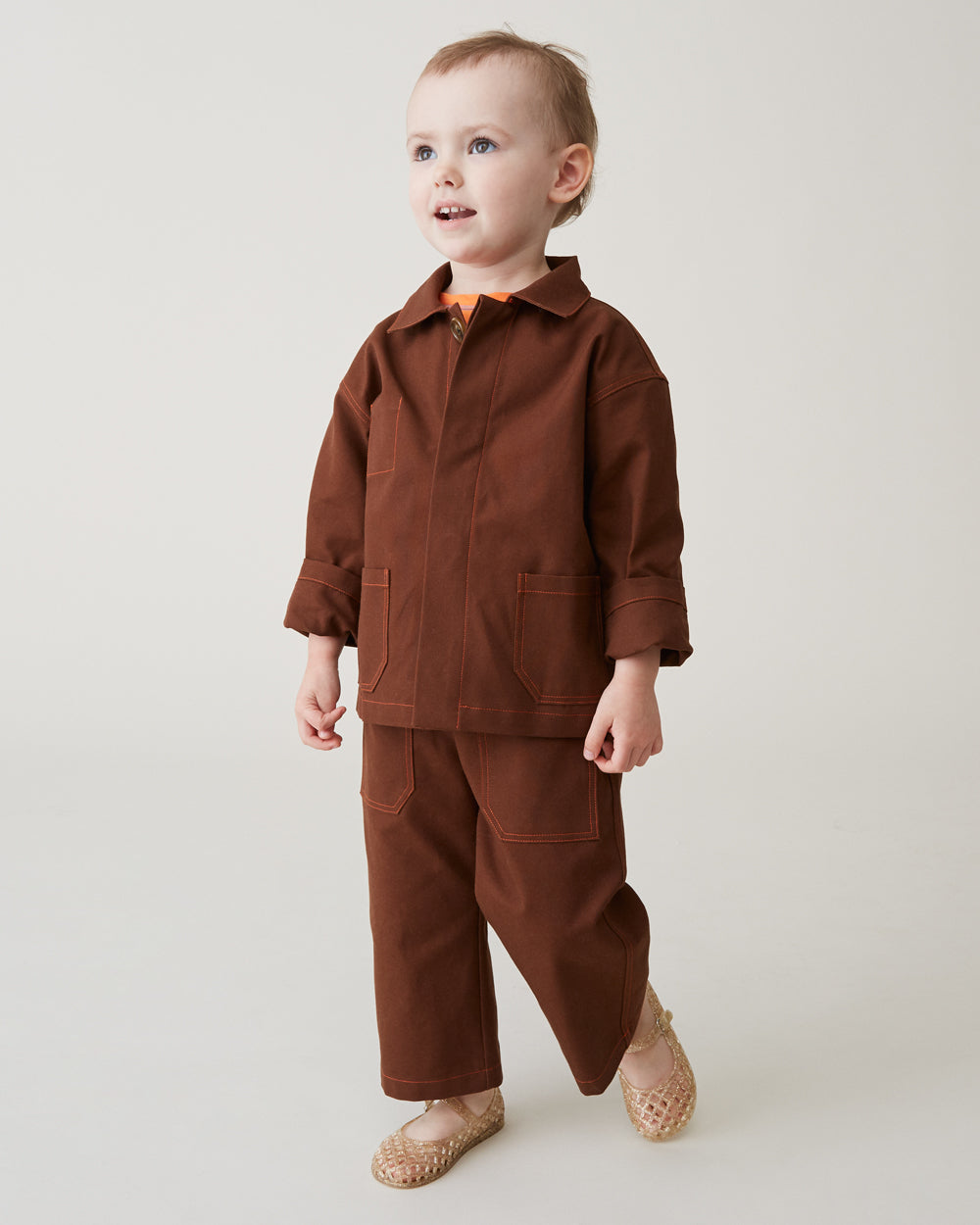 Chatham Trouser in Brown