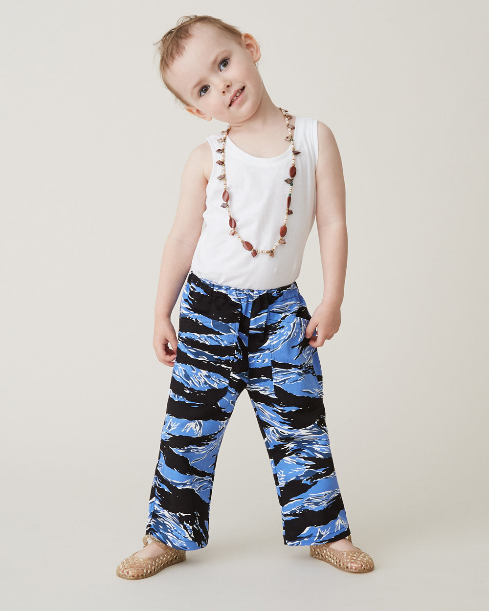Chatham Trouser in Blue Tiger Camo