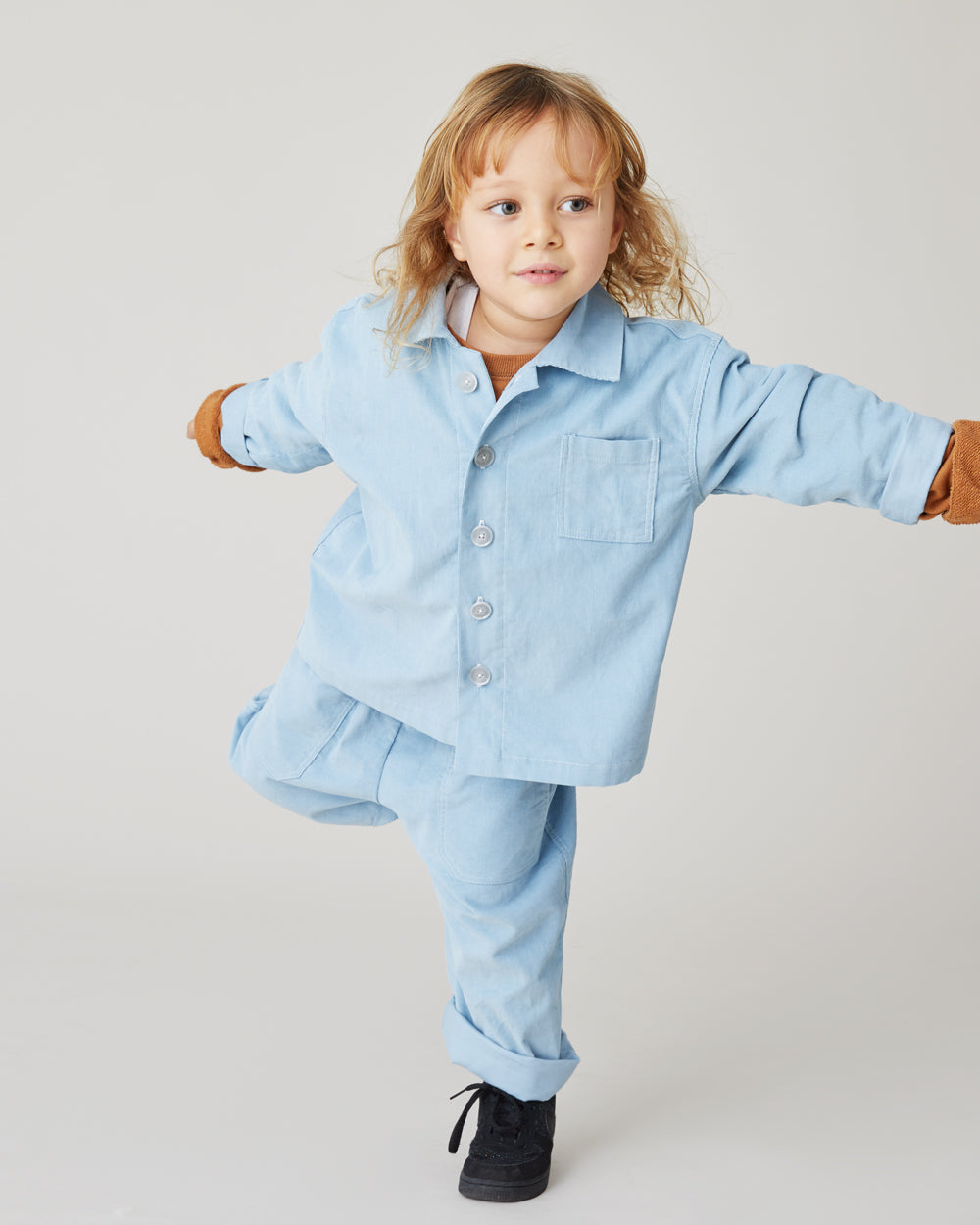 Seneca Shirt in Baby Blue