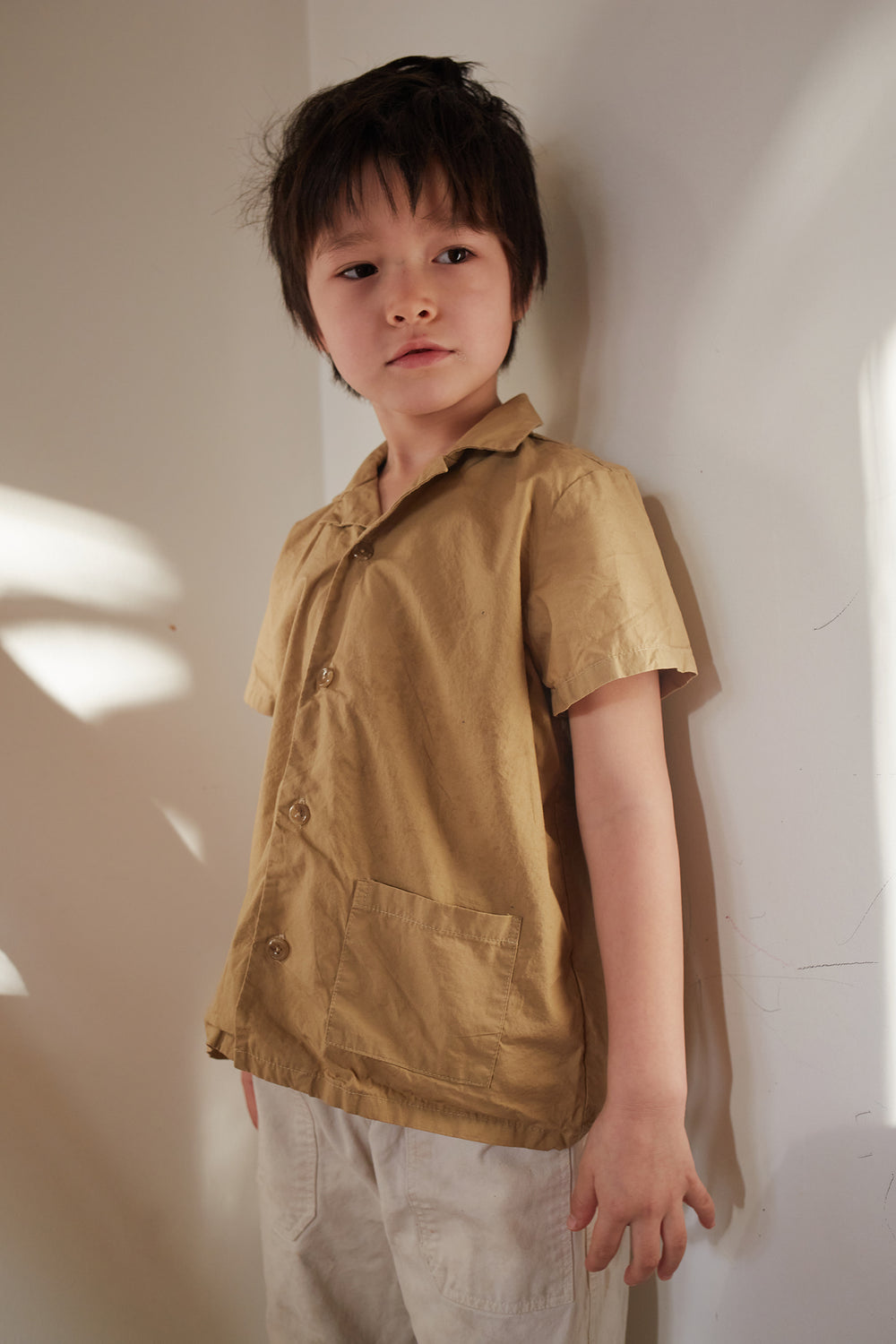 Coquito Shirt in Khaki