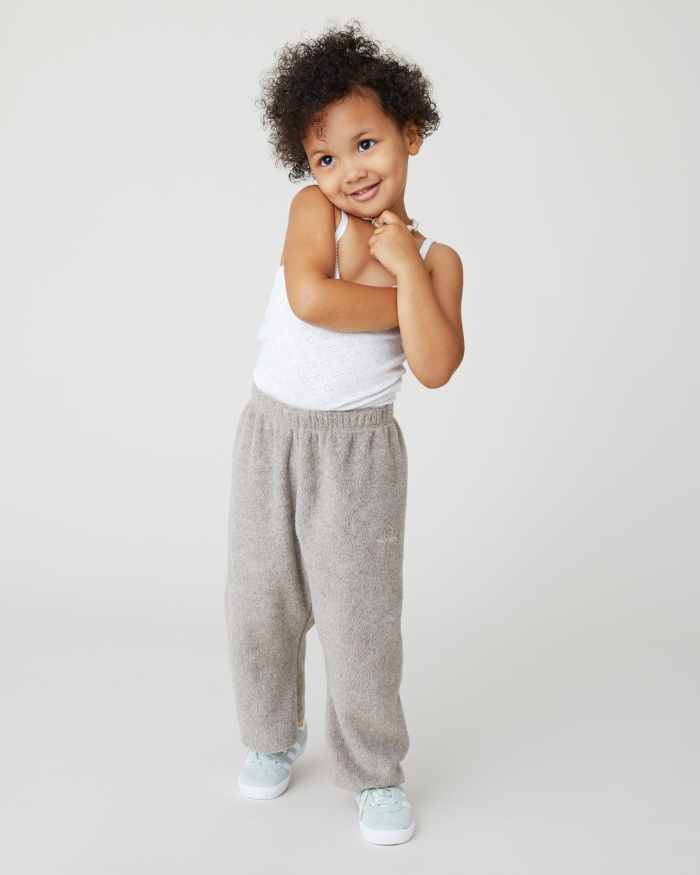 Ollie Sweatpants in Gray Melange