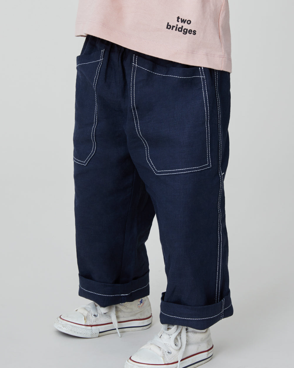 Chatham Trouser in Navy Black