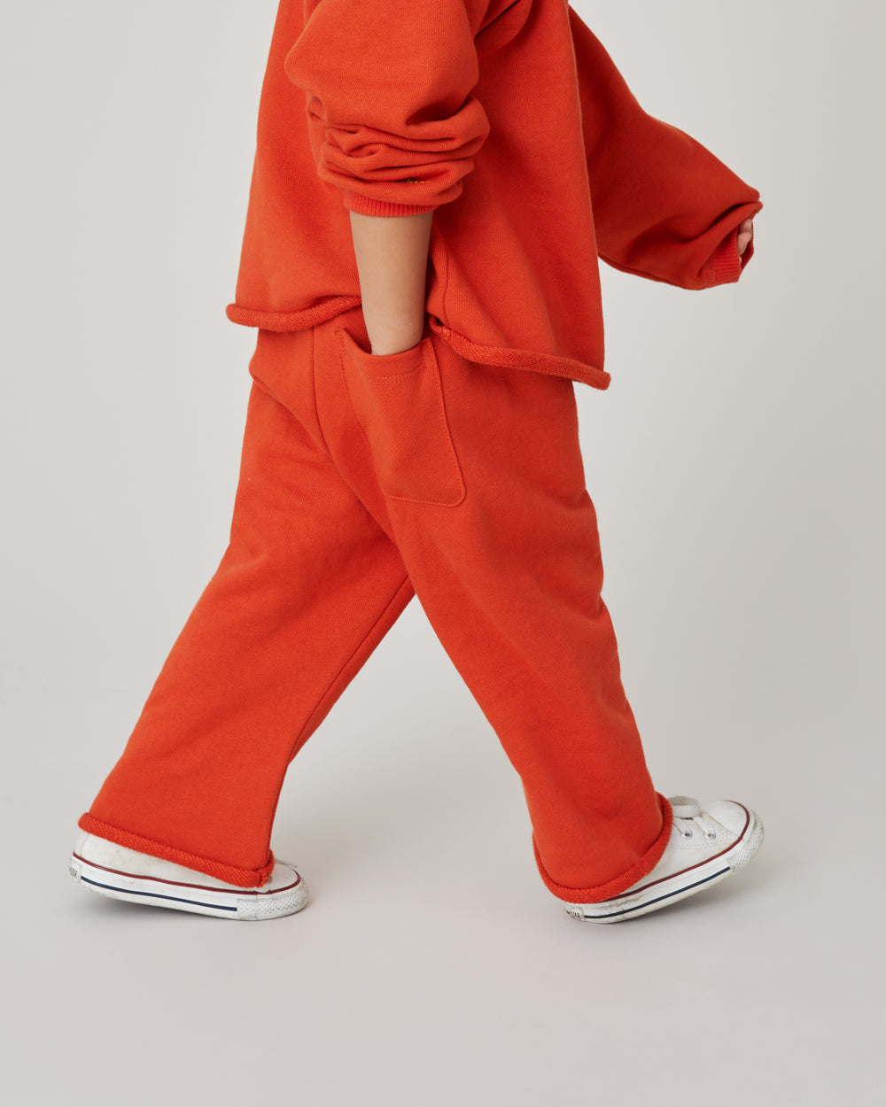 Ollie Sweatpants in Poppy