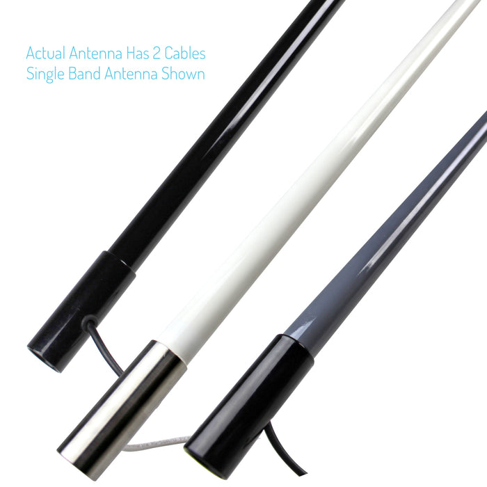 Custom Marine Radio Antenna Combo (AM/FM/VHF)