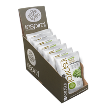 Box of 7 Wasabi Wheatgrass Kale Chips 30g
