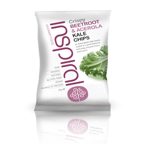 Box of 7 Beetroot Acerola Kale Chips 30g