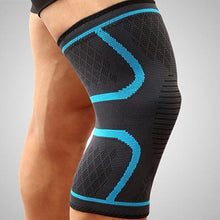 Ultra Compression Sleeve For Knee Arthritis Trenduber Blue M