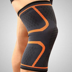 Ultra Compression Sleeve For Knee Arthritis Trenduber Orange M