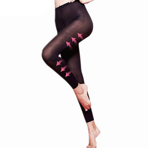 Body Shaping Slimming Leggings Trenduber Black M