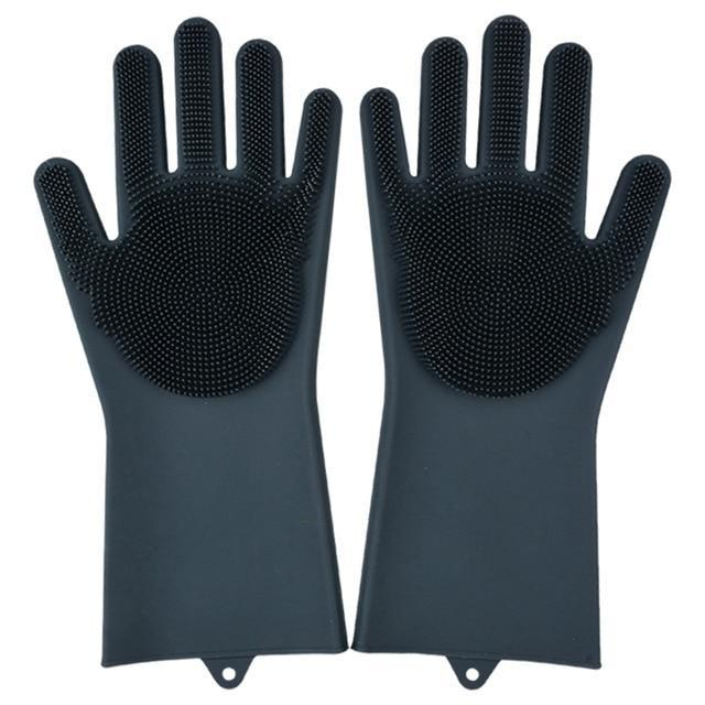 Super Gloves Trenduber black A Pair