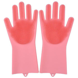 Super Gloves Trenduber pink A Pair