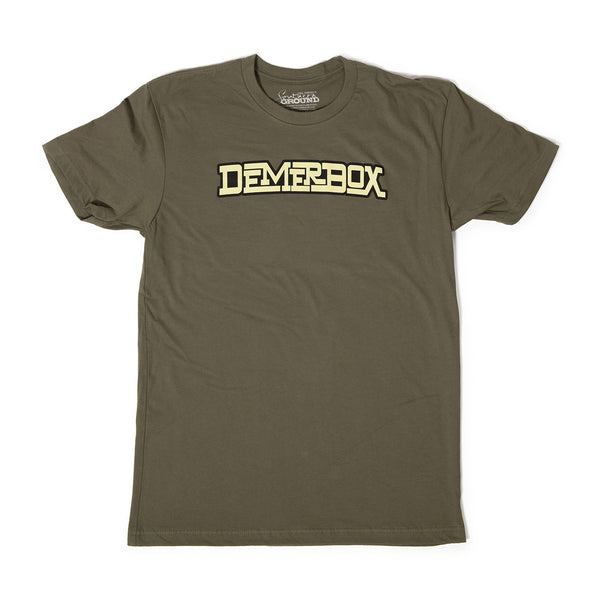 Single Stack OD Green Tee