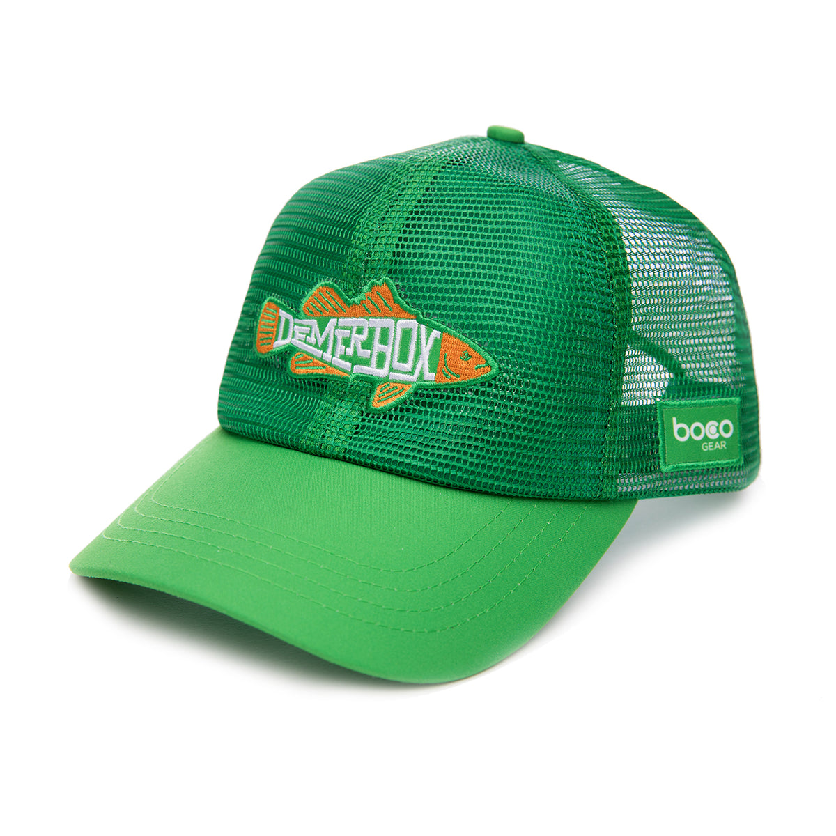 Green all mesh Fish Hat
