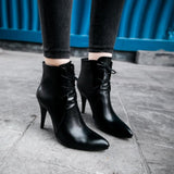 Sexy Point Martin High Heels Women's Boots
