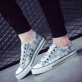 Casual Breathable Canvas Sneakers Shoes