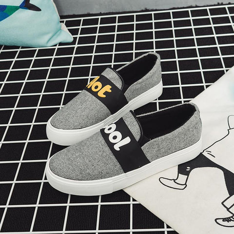 Fashion Letters Flat Comfortable Leisure Sneakers