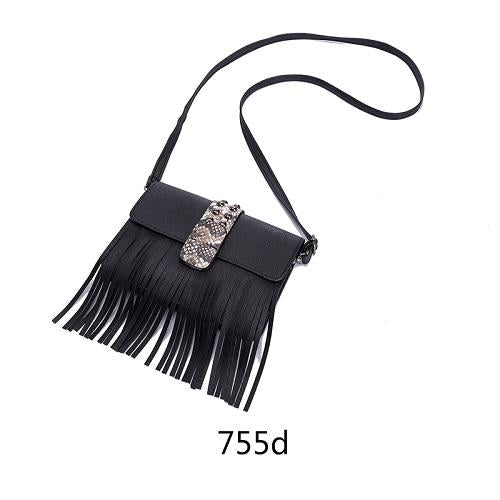 Mini Messenger Bag With Tassel