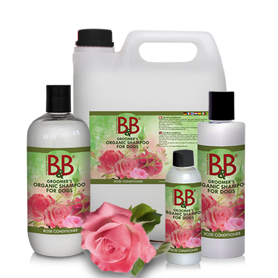 BB Conditioner med rose duft