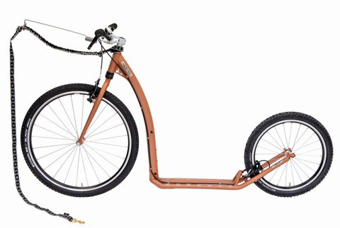KOSTKA Tour Max Dog Kick Bike - Mystic Copper