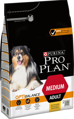 Purina Pro Plan Medium Adult OPTIBALANCE 14 kg