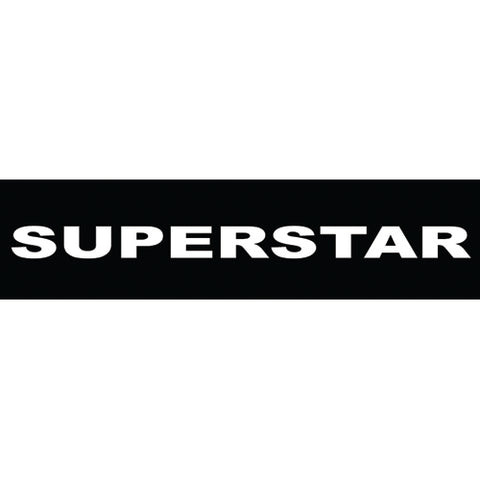 Superstar, baby, 80x20 mm