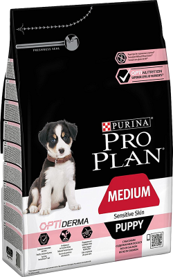 Purina Pro Plan Puppy Medium Sensitive Skin OPTIDERMA 12 kg