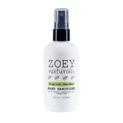 Zoey Naturals English Garden Hand Sanitizer