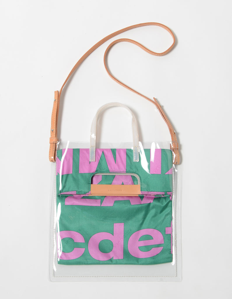 73BOLD TRANSPARENT BAG