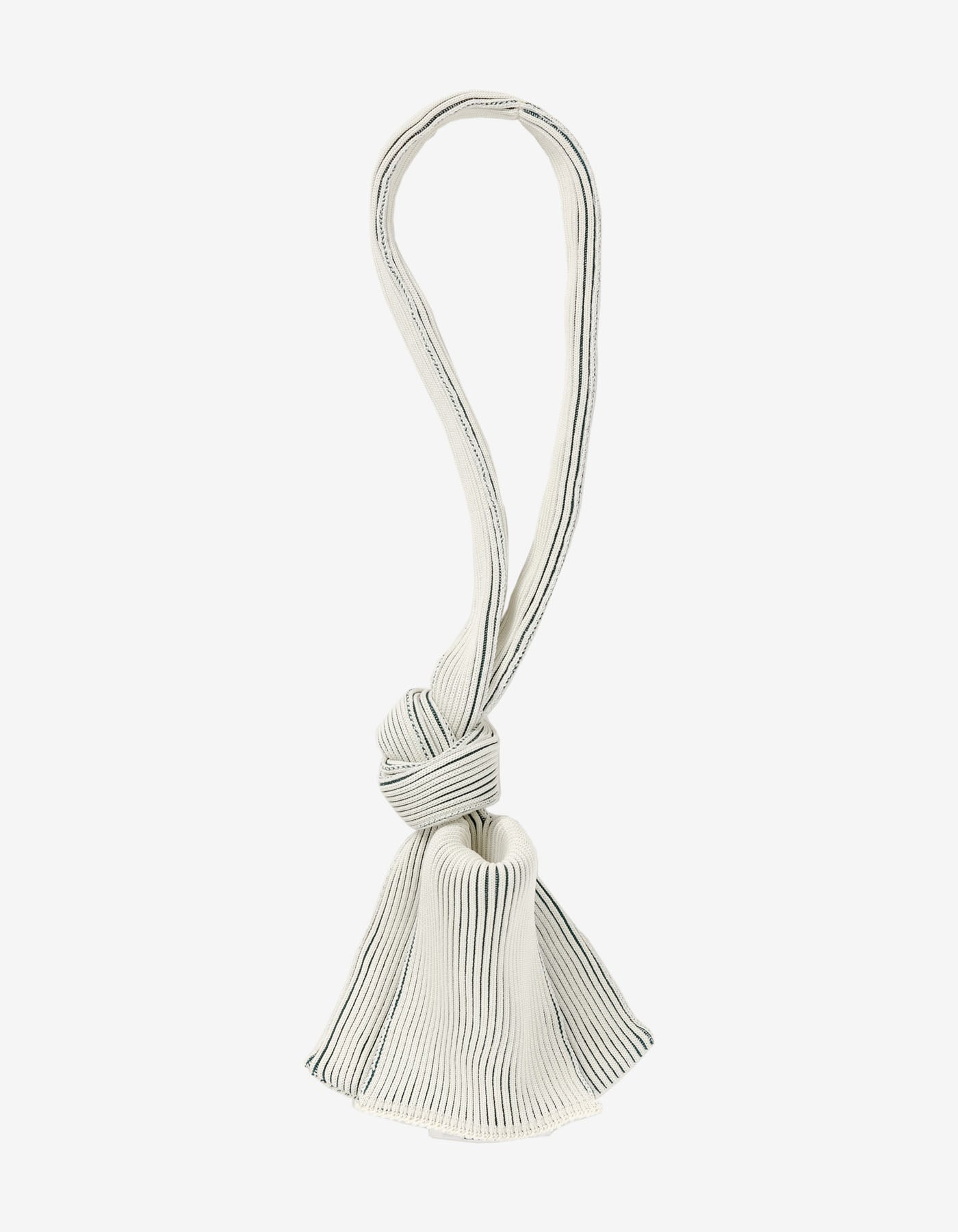 TWO TONE TINY TIE BAG