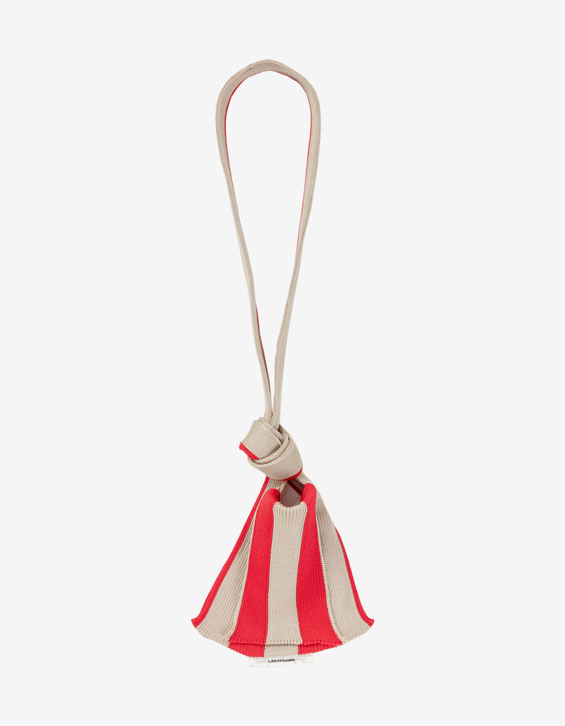 STRIPE TINY TIE BAG