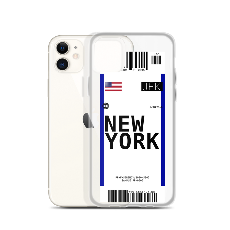 NEW YORK // JFK Coques 𝖘𝖊𝖗𝖊𝖓𝖉𝖞 𝖕𝖆𝖗𝖎𝖘® iPhone 11