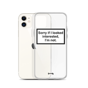 SORRY IF Coques 𝖘𝖊𝖗𝖊𝖓𝖉𝖞 𝖕𝖆𝖗𝖎𝖘® iPhone 11