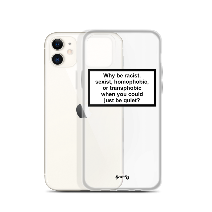 JUST BE QUIET Coques 𝖘𝖊𝖗𝖊𝖓𝖉𝖞 𝖕𝖆𝖗𝖎𝖘® iPhone 11