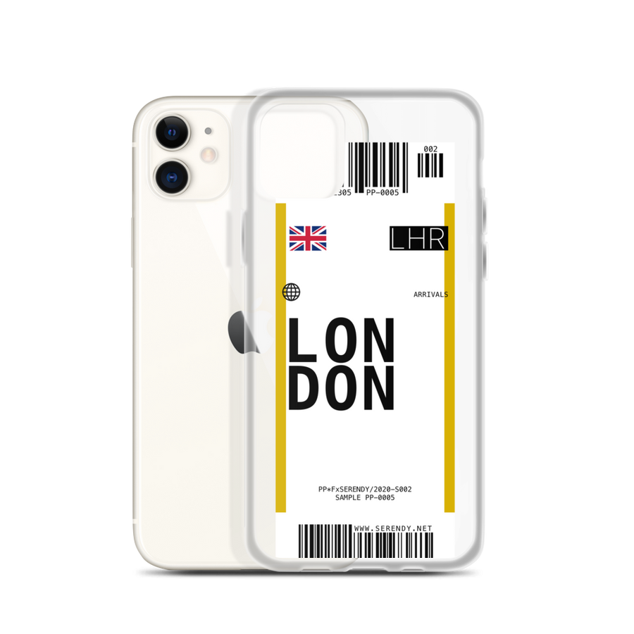 LONDON // LHR Coques 𝖘𝖊𝖗𝖊𝖓𝖉𝖞 𝖕𝖆𝖗𝖎𝖘® iPhone 11