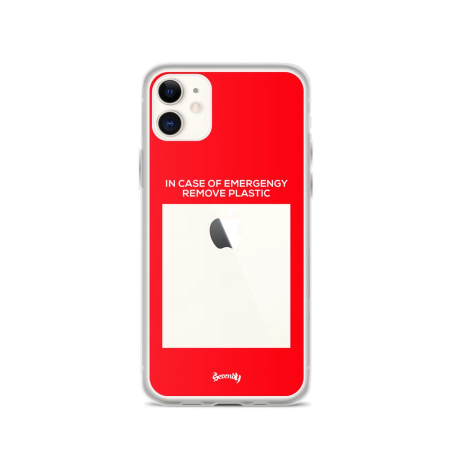 IN CASE OF EMERGENCY Coques 𝖘𝖊𝖗𝖊𝖓𝖉𝖞 𝖕𝖆𝖗𝖎𝖘® iPhone 11