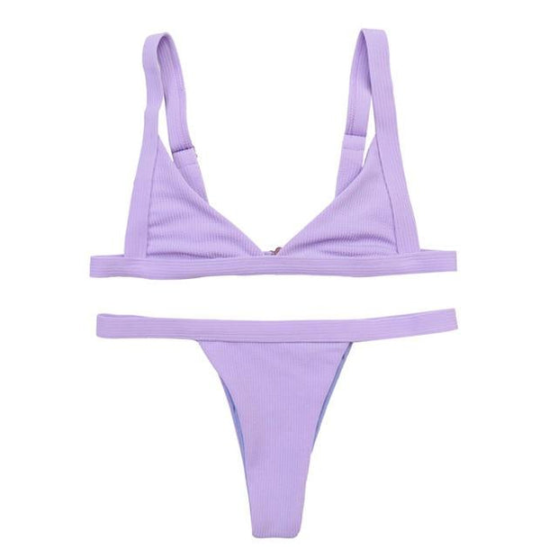 "Bikini ""KIMOLOS"" SERENDY Paris ® Purple S"