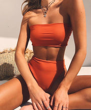"Bikini ""BORA-BORA"" Serendy ORANGE S"
