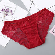 Culotte à bords festonnés Serendy ROUGE TAILLE UNIQUE